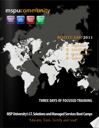 Video Boot Camp Agenda